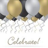 ¡Celebre! ilustración del vector