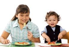 ¡Cena! Imagen de archivo libre de regalías