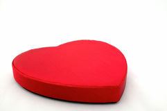¡Chocolate de las tarjetas del día de San Valentín adentro! Fotografía de archivo libre de regalías
