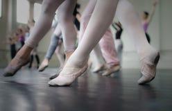 ¡Clase de danza! Foto de archivo libre de regalías