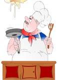 ¡Cocinero de la cataplasma! Foto de archivo