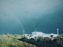 ¡Día de la mañana del arco iris!! Imagenes de archivo