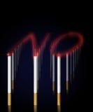 ¡De no fumadores! Foto de archivo libre de regalías