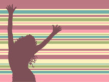 ¡Deja danza! ilustración del vector