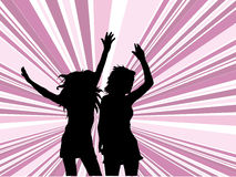 ¡Deja danza! Fotos de archivo