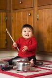¡Deje la música comenzar! Fotos de archivo libres de regalías