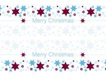 ¡Deseándole una Feliz Navidad! Fondo de la estrella libre illustration