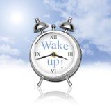 ¡Despierte! Foto de archivo libre de regalías
