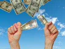 ¡Dinero - conseguido lo! Fotos de archivo libres de regalías