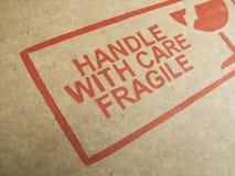 ¡Dirija con cuidado! Fotografía de archivo