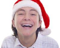 ¡Disfrute, la Navidad ha venido! Imágenes de archivo libres de regalías
