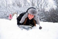 ¡Diviértase el invierno! Imágenes de archivo libres de regalías