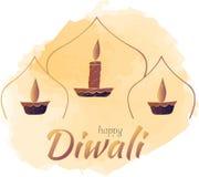 ¡Diwali feliz! Bandera Vector libre illustration