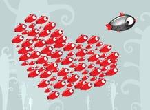 ¡Ejecútese, a pescado! Imágenes de archivo libres de regalías