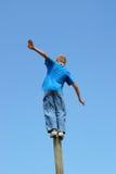 ¡Ejercicio de equilibrio! fotos de archivo libres de regalías