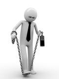 ¡El intentar romper el apego del teléfono! ilustración del vector