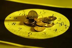 ¡El tiempo de las noticias! Imágenes de archivo libres de regalías
