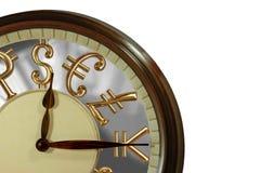 ¡El tiempo es oro! Foto de archivo