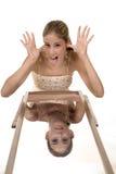 ¡El truco del espejo! Imagen de archivo libre de regalías