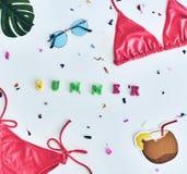 ¡El verano está aquí! Foto de archivo