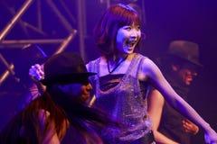 ¡El VIAJE 2011 de May'n ASIA UNE!! Fotografía de archivo