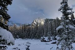 ¡Es invierno! foto de archivo