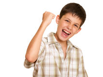 ¡Es mi victoria! Fotografía de archivo libre de regalías