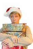 ¡Es tiempo de la Navidad otra vez! imágenes de archivo libres de regalías