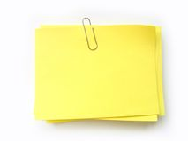 ¡Escriba la nota en ella! Foto de archivo