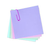 ¡Escriba su propia nota en ella! Fotos de archivo