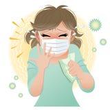 ¡Estornudo grande! Fotos de archivo