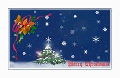¡Feliz Navidad! ilustración del vector