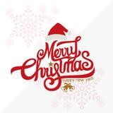 ¡Feliz Navidad y Feliz Año Nuevo! Tarjeta de felicitación Imagenes de archivo