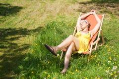 ¡Finalmente verano! Foto de archivo
