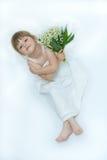 ¡Flores para usted, momia! Fotografía de archivo