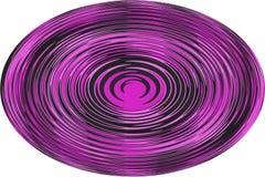 ¡Fondo, ejemplo una esfera con una línea ondulada en el fondo blanco! foto de archivo libre de regalías