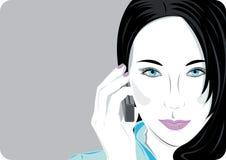¡Hola! stock de ilustración