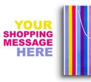 ¡Hora para las compras! fotografía de archivo libre de regalías