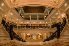¡Los pasillos de la democracia! foto de archivo libre de regalías
