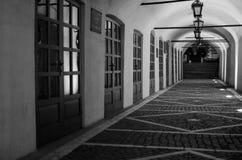 ¡Lugar blanco y negro reservado! fotos de archivo