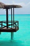 ¡Maldives, recepción al paraíso! imagen de archivo libre de regalías