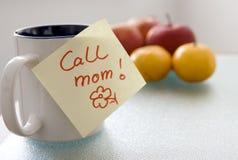 ¡Mama de la llamada! Fotografía de archivo libre de regalías