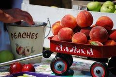 ¡Melocotones! Imagen de archivo libre de regalías