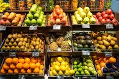¡Mercado de la fruta! Fotografía de archivo