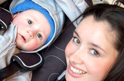 ¡Momia y bebé! fotos de archivo libres de regalías