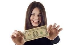 ¡Muéstreme el dinero! Imagen de archivo libre de regalías