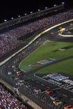¡NASCAR - abajo del estiramiento delantero! Fotos de archivo libres de regalías