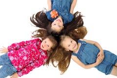 ¡Niñez despreocupada! Imagen de archivo libre de regalías
