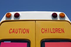 ¡Niños de la precaución! imagen de archivo libre de regalías