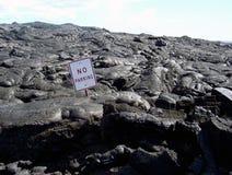 ¡Ningún estacionamiento! Foto de archivo